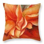 Floral Flash Throw Pillow