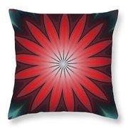 Floral Geometric 102311a Throw Pillow