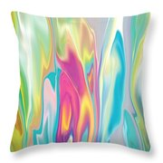 Floral Quest Throw Pillow
