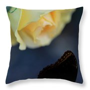 Floral Spotlight Throw Pillow