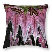Floral Wonderful Throw Pillow