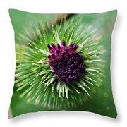 Floral1 Throw Pillow