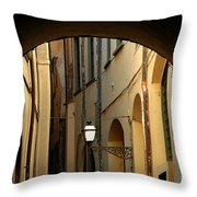 Florence Alley  Throw Pillow