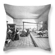 Florence Nightingale, English Nurse Throw Pillow