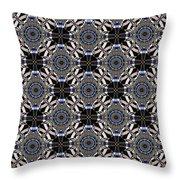 Florentine Colonnade Symmetry Throw Pillow