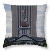 Florida Capitol Throw Pillow