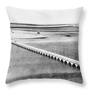Florida: Overseas Bridge Throw Pillow