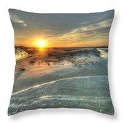 Florida Point Point Throw Pillow