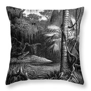 Florida: Swamp Throw Pillow