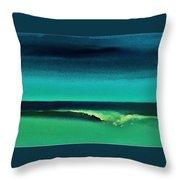 Florida Wave Throw Pillow