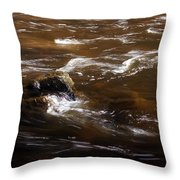 Flow Of Thought Throw Pillow