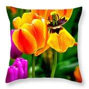 Flower 19 Throw Pillow
