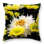 Flower 21 Throw Pillow