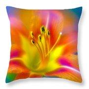 Flower 30 Throw Pillow