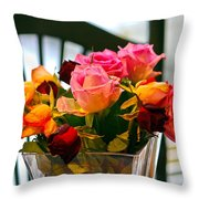 Flower 34 Throw Pillow