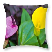 Flower 4 Throw Pillow