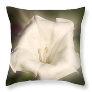 Flower In The Autumn Throw Pillow