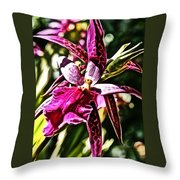 Flower Painting 0002 Throw Pillow