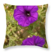 Flower Painting 0006 Throw Pillow