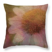 Flower Paper Throw Pillow