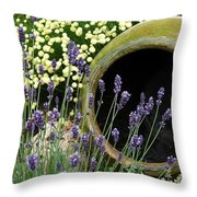 Flower Pot 5 Throw Pillow