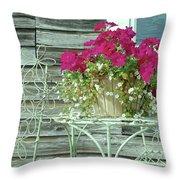 Flower Pots ...... 4 Throw Pillow