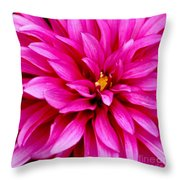 Flower Squared Throw Pillow