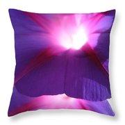 Flowers - Gardening - A Summer Morning Throw Pillow