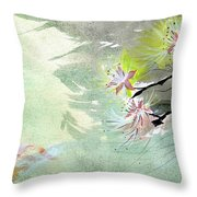 Flowers 3 Throw Pillow
