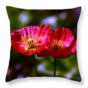 Flowers Are For Fun Throw Pillow