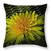 Flowers Are Weeds With Respect Throw Pillow