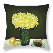 Flowers For Mother Throw Pillow