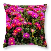 Flowers For Wallpaper Throw Pillow