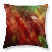 Flowers In The Wind 2 Throw Pillow