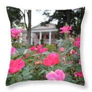 Flowers Of Tate Throw Pillow