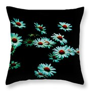 Flowers Only Throw Pillow