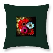 Flowers Part 3 Throw Pillow