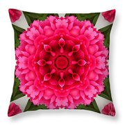 Flowery Creation Throw Pillow