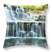 Flowing Beauty Throw Pillow