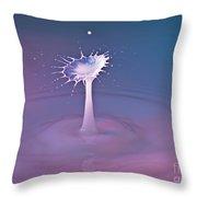 Fluid Art Throw Pillow