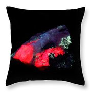 Fluorescent Illimaussaq Complex Throw Pillow