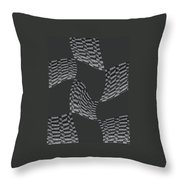 Flying Throw Pillow