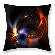 Flying Eye Throw Pillow