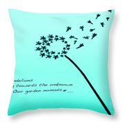 Flying Nomads Throw Pillow