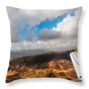Flying Over Spanish Land IIi Throw Pillow
