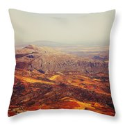 Flying Over Spanish Land Throw Pillow