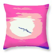 Flying To Heaven Throw Pillow