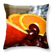 Focus Food Throw Pillow