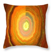 Focus On Your Inner Strength Throw Pillow
