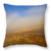 Fog Bow At Lookout Point Throw Pillow